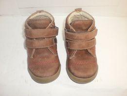 Демисезонные кожаные ботиночки на мальчика