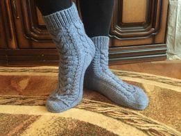 Носки шкарпетки тёплые теплі ручной ручної работы роботи вязание заказ