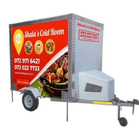 Mobile Coldroom and freezer