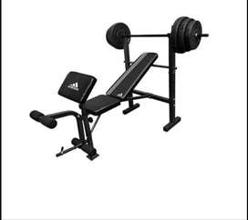 I'm looking for a Bench and weights
