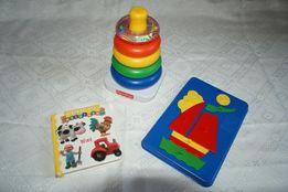 Zestaw 3 zabawek dla malca