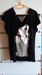 Świetna duża oversizowa koszulka tshirt