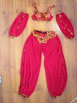 Восточный костюм штанами, красный, размер 44.