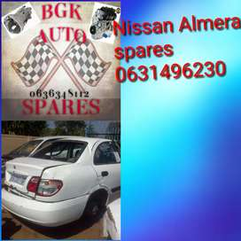 Nissan Almera spares available