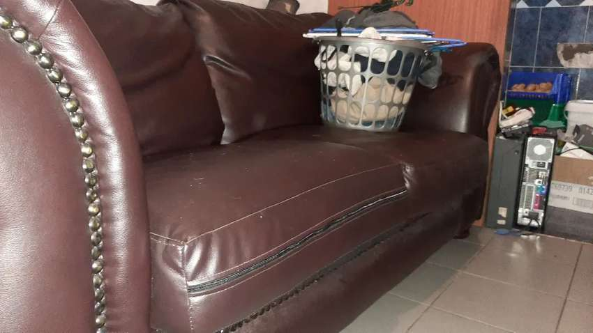 Beautiful Genuine leather couch