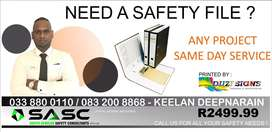 Do you need a safety file ?