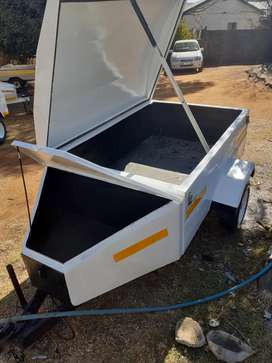 5foot trailer with nose cone