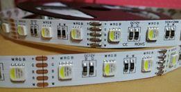 Светодиодная лента 12В RGBWW SMD5050 300LEDs (60шт/м) IP20