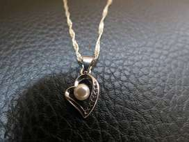 Sterling silver 925 heart necklaces
