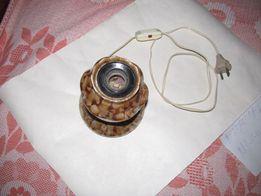 Керамический настольный светильник без плафона