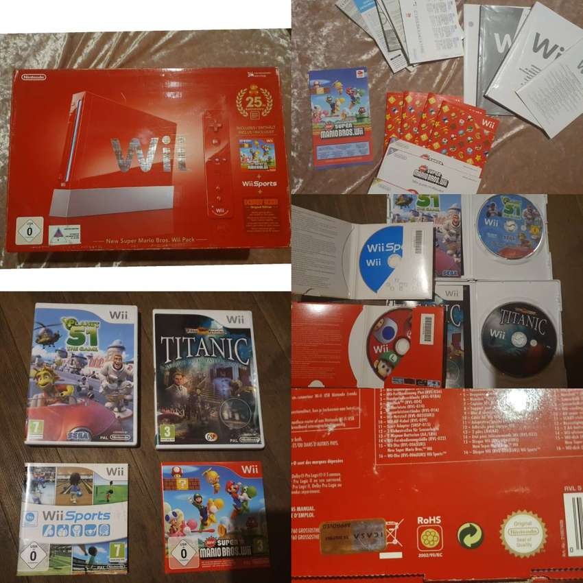 Limited edition Mario Wii 0
