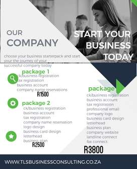 Business consulting and registrations
