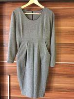 Elegancka sukienka ciążowa, rozmiar S - jak nowa - Happymum