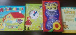 4 Książeczki edukacyjne MARTEL