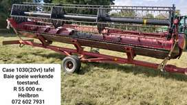 Case 1030 Ridged 20vt tafel