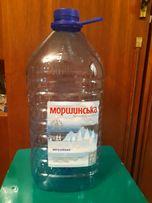 Бутыль 6 л из под питьевой воды с ручкой