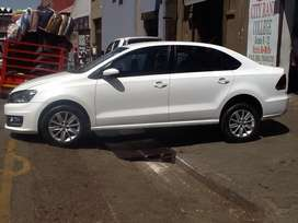 VW POLO  6 Sendan 1.4  2017 model available now with 73000km dont mis