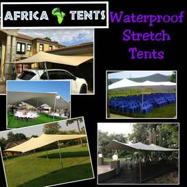 Heavy Duty, Waterproof Stretch Tents on Sale!