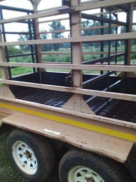 Cattle, pig and sheep trailer