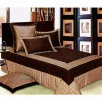 Image of High Qulity Leather Duvet Cover Set 5PCS Size : 275x260