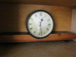 Настольно-каминные именные часы Янтарь, СССР