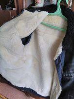 Б/у Мужская куртка зимняя 48-50