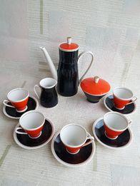 Кофейный сервиз Freiberger Германия, ГДР, на 5 персон, 13 предметов