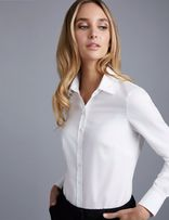 Белые классические рубашки с длинным рукавом mango zara naf naf