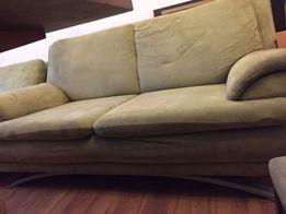 Sofa, fotel, podnózek(pufa) komplet mebli