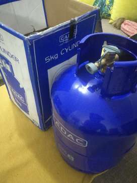 Gas cylinder brand new not used