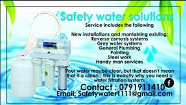 Safety water solutions