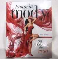 Historia mody książka nowa w folii