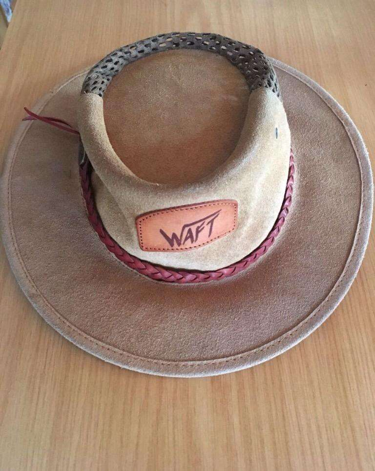 Leather Fishing Hat