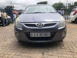 2012 Hyundai i20 1.6 manual