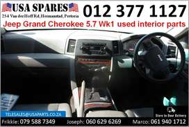 Jeep Grand Cherokee 5.7 WK 2005-10 used interior parts for sale