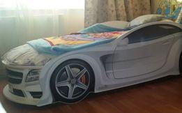 Детская кровать машинка БМВ, Ауди, Камаро и другая детская мебель