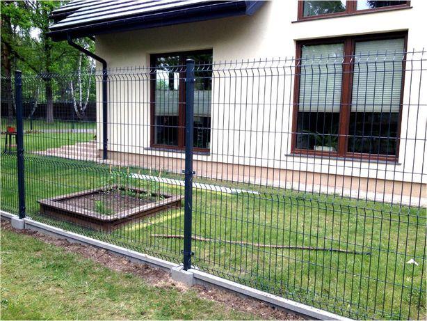 Ogrodzenia panelowe + podmurówka + montaż. 51 drutów pionowych. Błonie - image 3