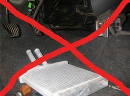 Замена радиатора печки ланос сенс LADA 2110 2111 2112