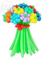 """Букеты из воздушных шаров """"Яскравi враження"""""""