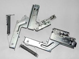 Zawiasy, sprężyny, linki, prowadnice do drzwi zmywarki Bosch Siemens