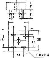 Elektronika-Mostek Prostowniczy 1000V 50A Prostownik KBPC5010 Płytki