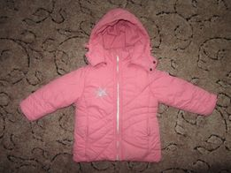 Зимняя теплая курточка на 3-4 года