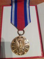 Odznaka brązowa Za zasługi w ochronie porządku publicznego.