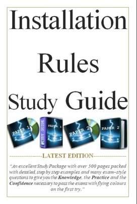 Installation Rules Study Guide   Past Exams And Memos   SANS 10142