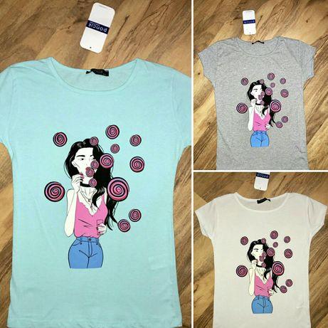 Женская футболка хлопок размер 42. 44. Херсон - изображение 3