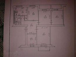 Продам квартиру 5 комнат 93 кв.м