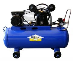 Ременной компрессор VBM-2T0.4-100 WERK. (420 л/мин)