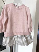 Zara girls sukienka sukieneczka śliczna baby girls 86 zima jesień