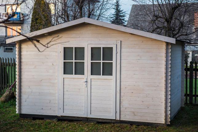 Domek drewniany ogrodowy 4x4m narzędziowy drewutnia altana domki Graboszyce - image 3