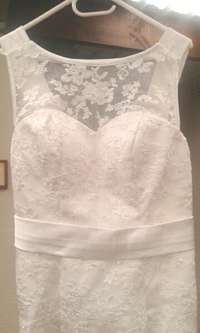Image of Ivory, Open-back wedding dresses for hire/sale!